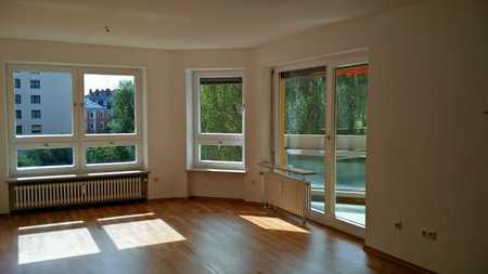 Lichtdurchflutete Zwei-Zimmerwohnung in Stadtnähe in Augsburg-Innenstadt