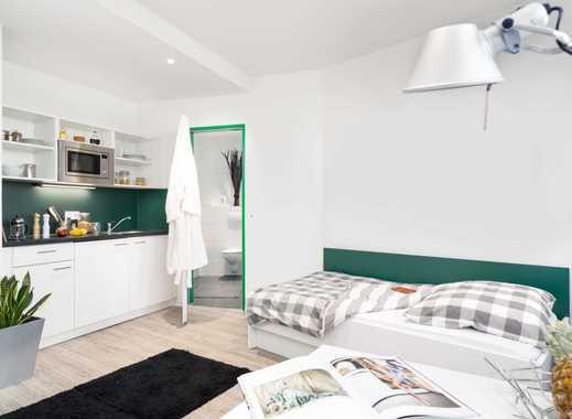 Möbliertes 1-Zimmer-Apartment mit tollem Schnitt - für Studenten - H2F