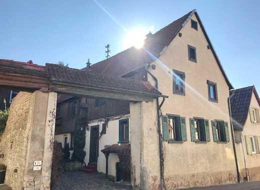 BAYER Immobilien GmbH:Nostalgisches Altbau-Zweifamilienhaus mit ca. 194 m² Wohnfläche in Saulheim