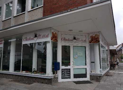 Neuss, Eck-Ladenlokal mit Verkaufsraum+Nebenflächen,Bäcker,Cafe,Kiosk,Ausstellung,Verkaufsbüro