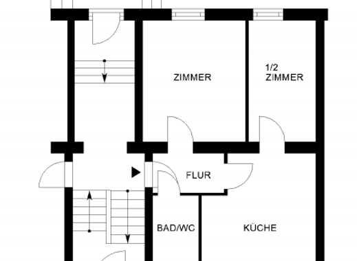altbauwohnung wolfsburg altbau bei immobilienscout24. Black Bedroom Furniture Sets. Home Design Ideas