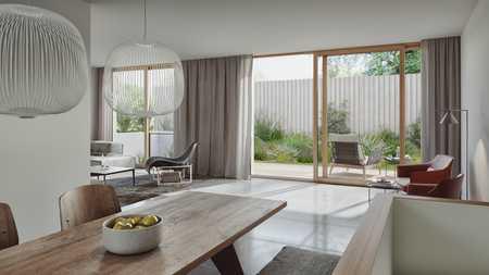 Moderne und helle Neubauwohnung mit Terrasse/Garten am Englischen Garten in Schwabing (München)
