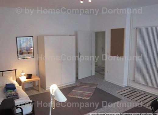 Möbliertes Zimmer mit Balkonmitbenutzung und Leihfahrrad in begehrter Dortmunder Innenstadtlage