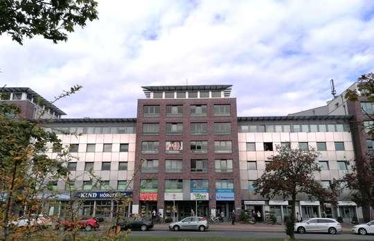 Bürofläche mit Blick auf das Leine Center