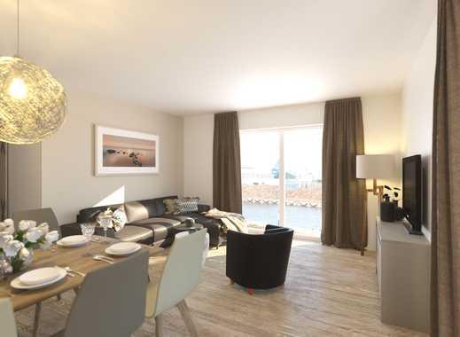 Moderne Architektur an der Wismarer Kaikante - 3-Zimmer-Appartment mit hochwertiger Einrichtung!