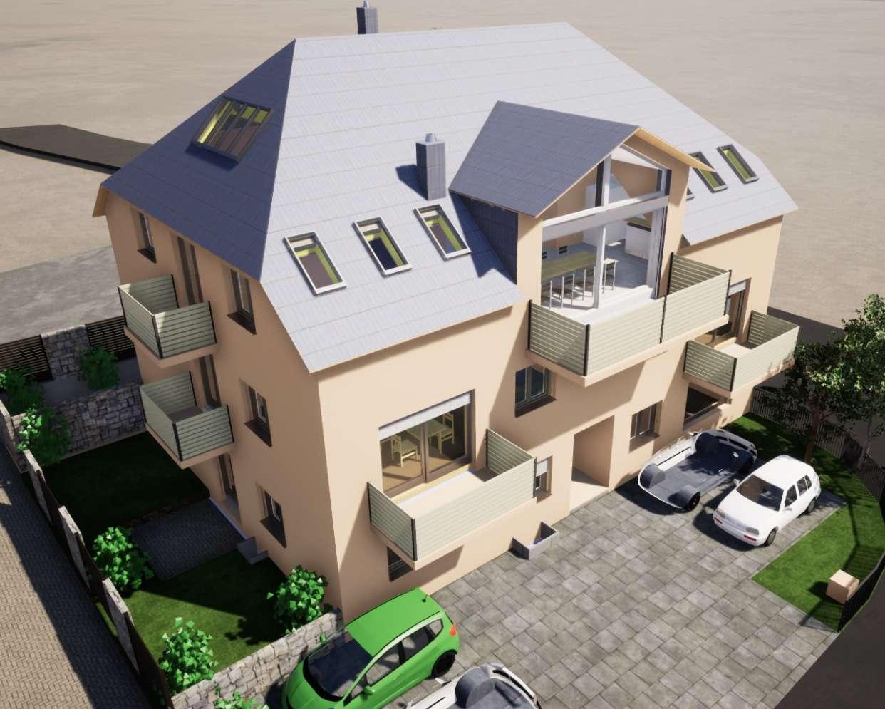 Erstbezug: exklusive 2-Zimmer-Wohnung mit EBK in Sonthofen in