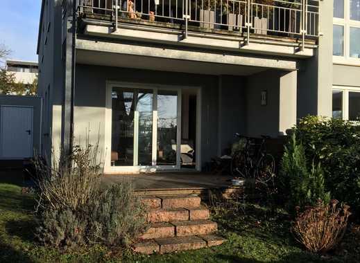 Hochwertige 4-Zimmer-Wohnung mit Terrasse, Garten und Garage in Dreieich Götzenhain