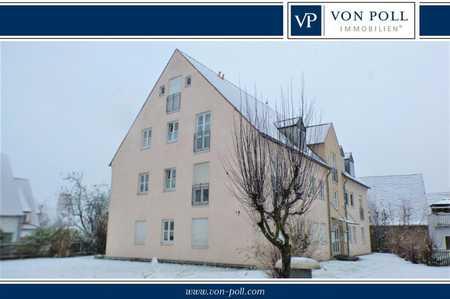 Altstadt Nördlingen:2-Zi.-EG-Wohnung mit Einbauküche, TG-Stellplatz und Terrasse in Nördlingen