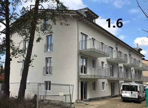 Erstbezug: sehr helle 3-Zimmer-Wohnung mit Einbauküche und Blick ins Grüne 1.OG/Aufzug  Nr.1.6