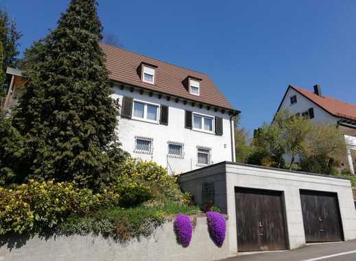 Einfamilienhaus mit Doppelgarage und Schlossblick