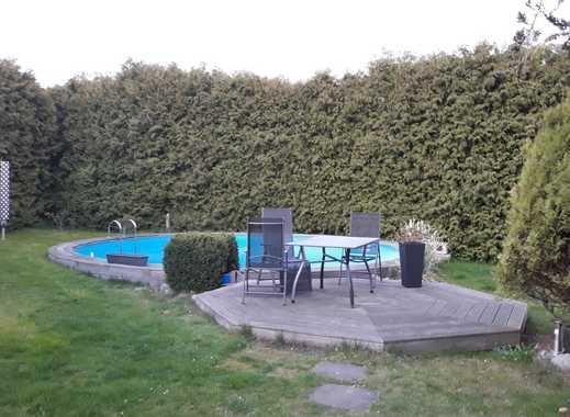 Eine Etage für sich + Garten für sich + Pool für sich + überdachte Terrasse für sich