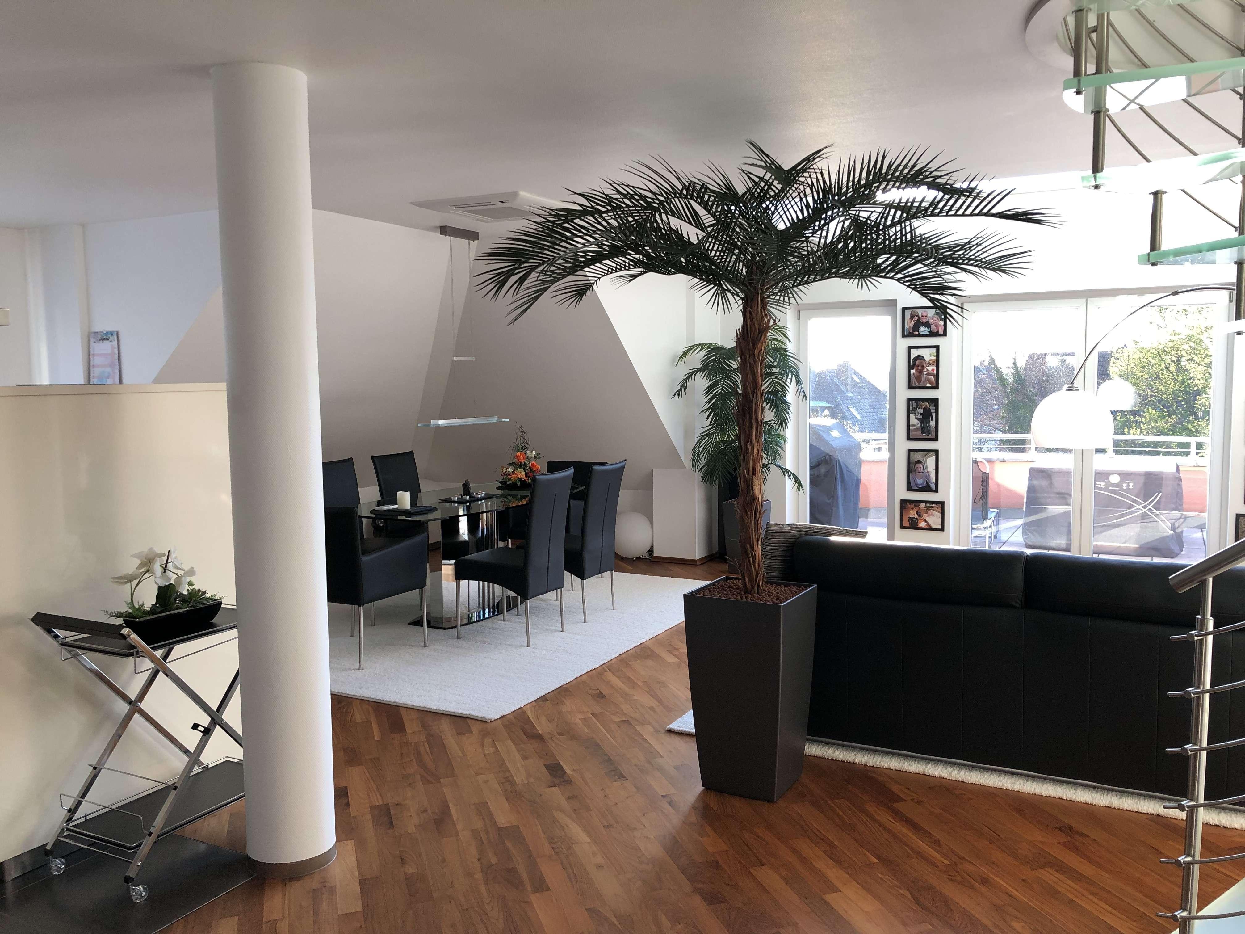 Exklusive Maisonette-Wohnung mit großem Balkon und Blick über Aschaffenburg in