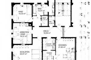 4 Zimmer Wohnung in Zwickau (Kreis)