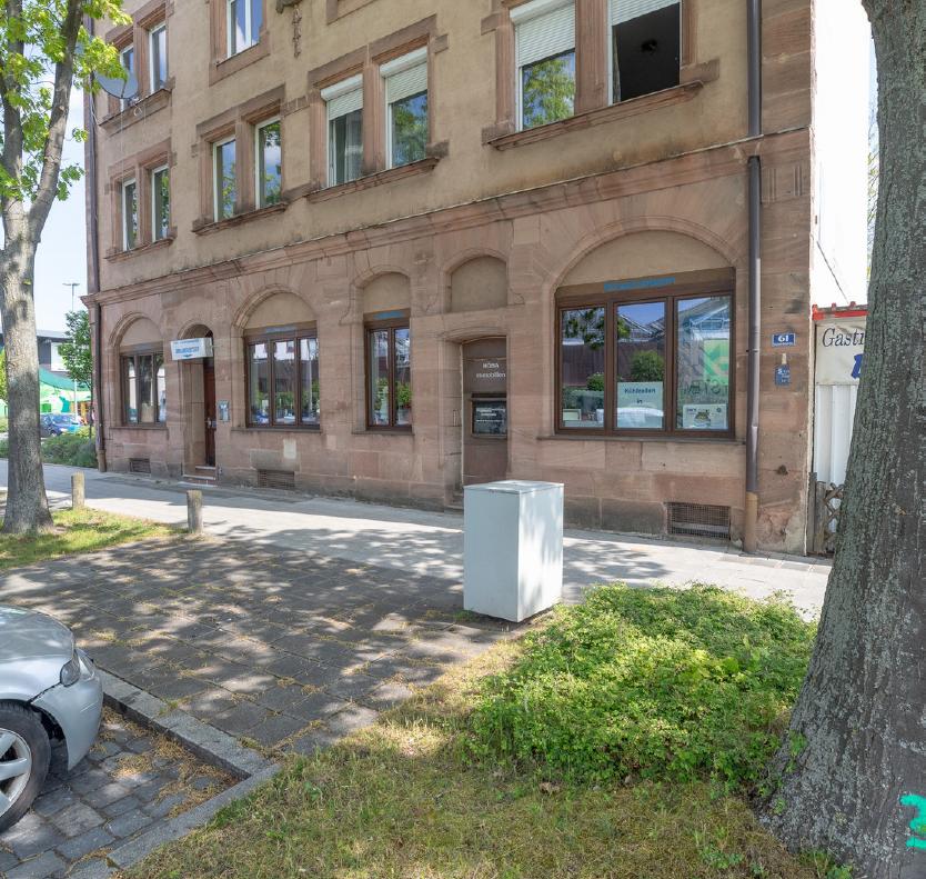 Erstbezug nach Sanierung mit Einbauküche: geräumige 3-Zimmer-Wohnung in Nürnberg in St. Leonhard (Nürnberg)
