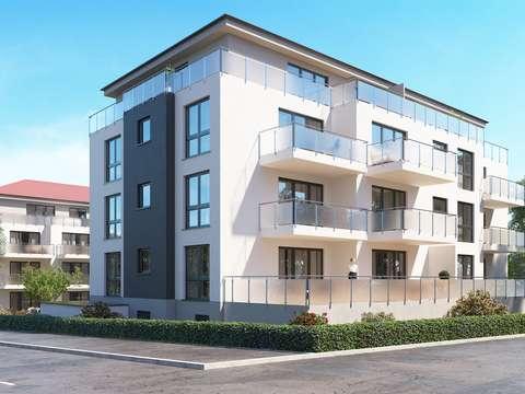 Attraktive Neubauwohnung Im Erdgeschoss Mit Sonniger Terrasse