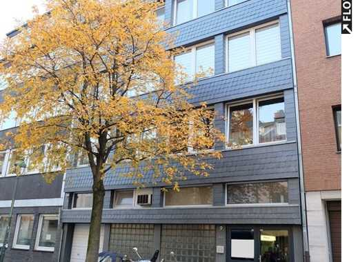 Ideal für Anleger: voll vermietetes Mehrfamilienhaus. Plus Gewerbeeinheit. Zentral in Düsseldorf.