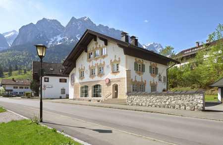 Wohnung in Wohnhaus im Ortskern von Obergrainau in Grainau