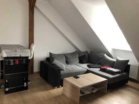 Neuwertige 1,5-Raum-Dachgeschosswohnung im Zentrum von Herrieden in Herrieden