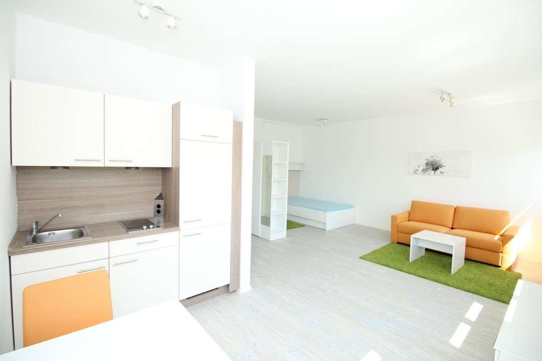 Moderne möblierte 1-Zimmer Wohnung - Nähe Stadtgrenze in
