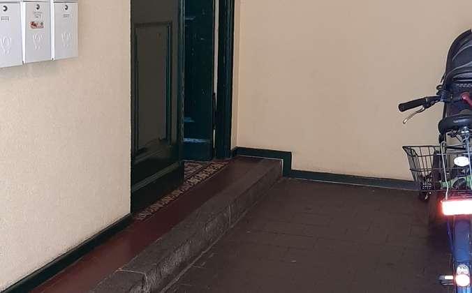 Haustür- Eingangsbereich