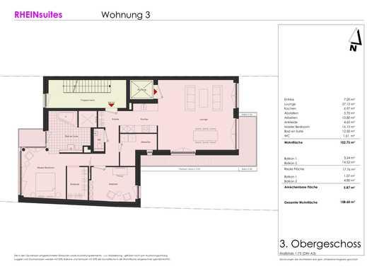 Wohnung 3, 3. Obergeschoss