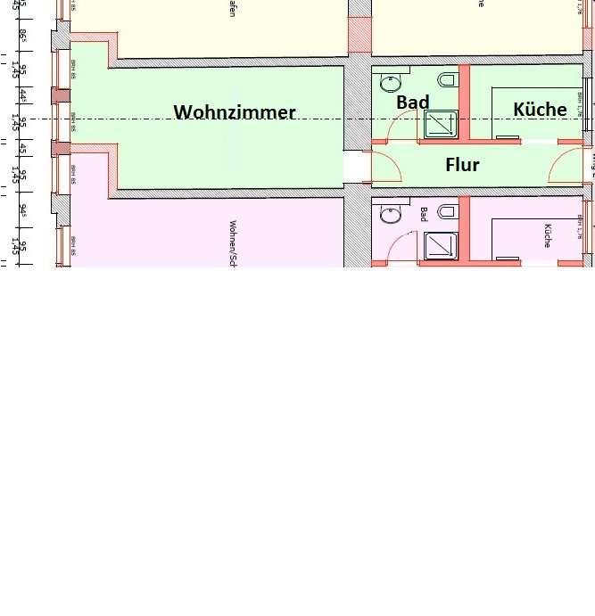 1-Raum-Wohnung 2.OG