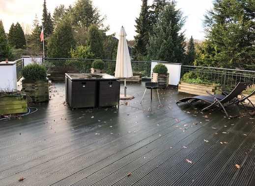 Penthouse-Maisonette mit 50 qm Dachterrasse in Henstedt-Rhen
