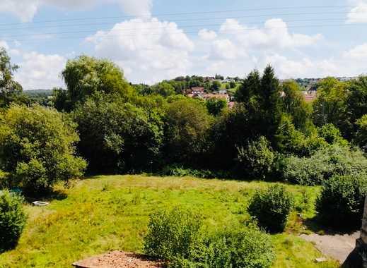 Stadtnahes Baugrundstück in Osterburken mit Blick in´s Grüne