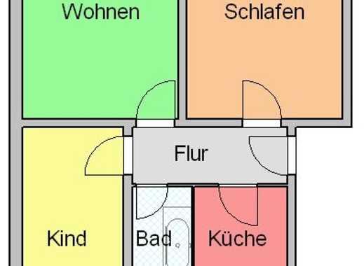 3-Raum-Wohnung mit Balkon im Stadtbereich!