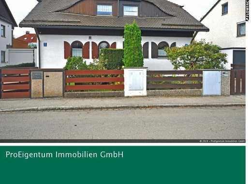 Neuaubing: Charmante Doppelhaushälfte mit eigenem Garten, Hobbykeller & Sauna!