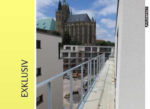 Einmalige Wohnung über den Dächern von Erfurt direkt am Dom