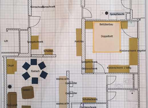 Großzügige 2,5-Zimmer-Wohnung mit 2 Balkonen und Tiefgarage