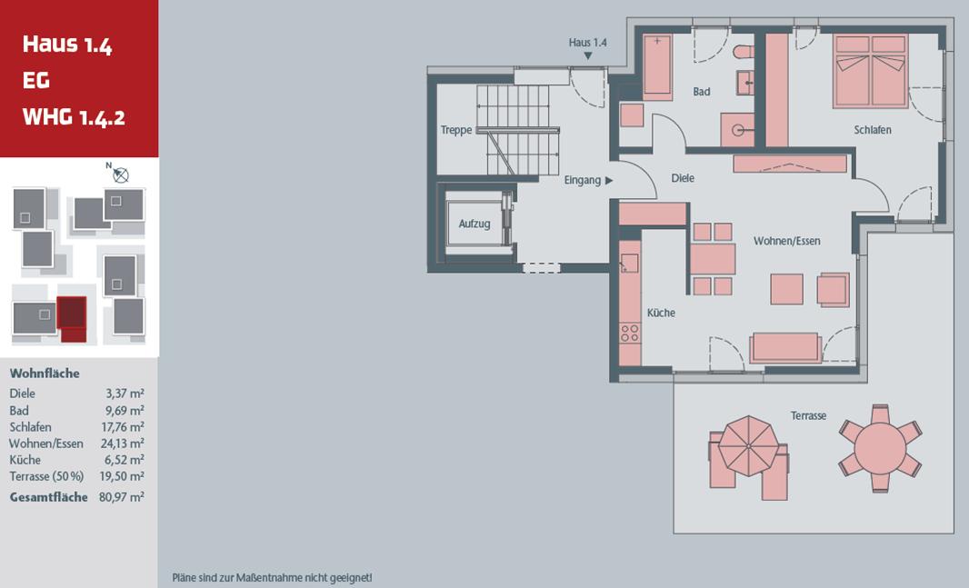 Neuwertige 2-Zimmer Wohnung in Ingolstadt, Südost (Schanzercarree)
