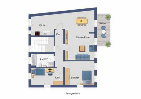Hochwertige 3-Zimmer-Wohnung zukünftig mit Balkon in kernsaniertem Anwesen in Altstadt, Innenstadt (Fürth)
