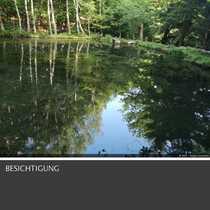Traumhaft schöne Teichanlage mit Fischerhütte