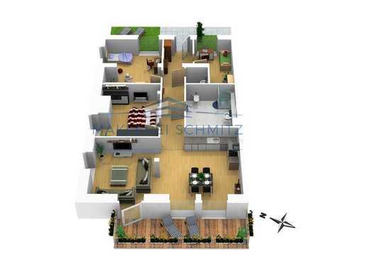PROVISIONSFREI - Exklusive 4 Zimmer Wohnung auf ca.128m² mit Balkon