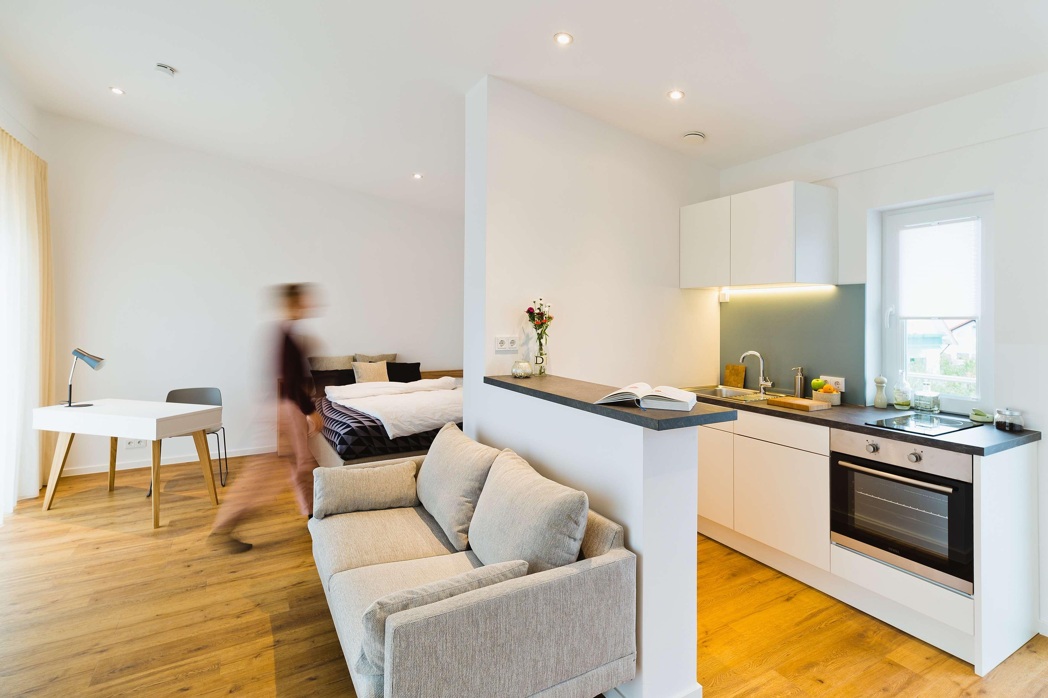 Großes Apartment mit Dachterrasse *Hochwertigst möbliert*H2F in