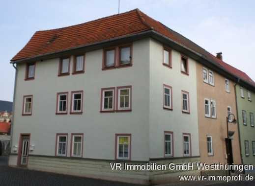 Kleines Mehrfamilienhaus in der historischen Altstadt.