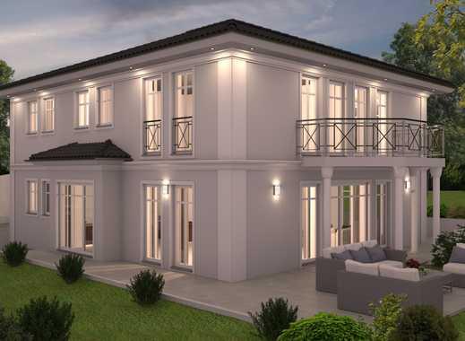 Neubau klassische Villa am Waldrand/ Hanglage