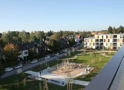 Über den Dächern! 3-Zimmer Penthouse-Wohnung (32 m² Dachterrasse!) mit großem Wohn-/Ess-/Kochbereich