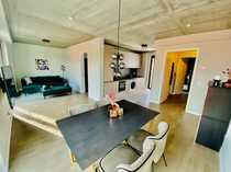 hochwertig möbliertes helles 2-Zimmer Apartment