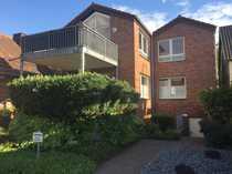 Wohnen in Ahlens Innenstadt - 3 Z. Erdgeschosswhg. mit Terrasse in einem 2 FH