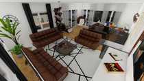 Maisonette-Wohnung im Obergeschoss mit Penthouse