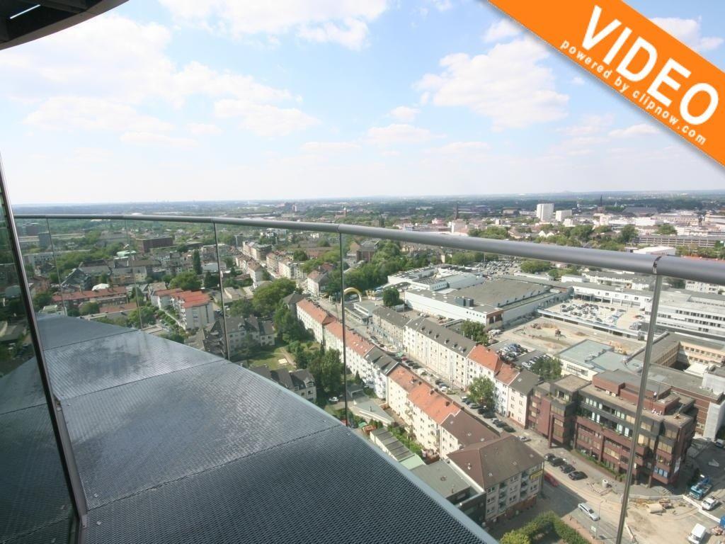 Ausblick über Bochum