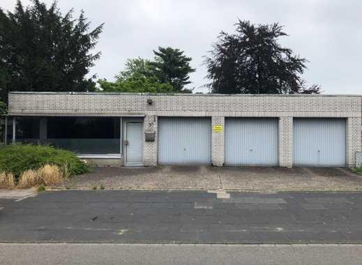 Ihre Gewerbeeinheit mit einer Garage und viel Freifläche vor den Garagen in Mülheim - Speldorf!