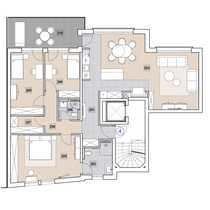 Großzügige 4-Zimmer-Wohnung mit Balkon zum