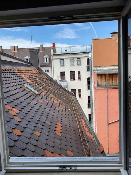 Helle & ruhige 1 Zimmerwohnung  in Augsburg-Innenstadt