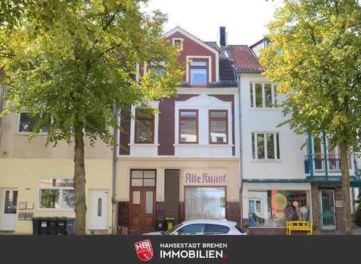 Walle / Kapitalanlage: Schönes 2-Parteien-Reihenhaus in zentraler Lage