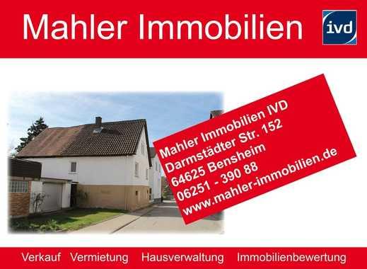 !! RESERVIERT !! zwei sanierungsbedürftige Häuser in Bensheim Gronau