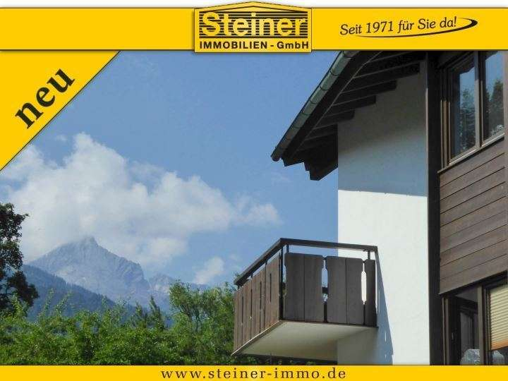2-Zimmer-Erker-Wohnung ca. 72 m², LIFT, Kamin, EBK, TG-Platz a. W. in Garmisch-Partenkirchen